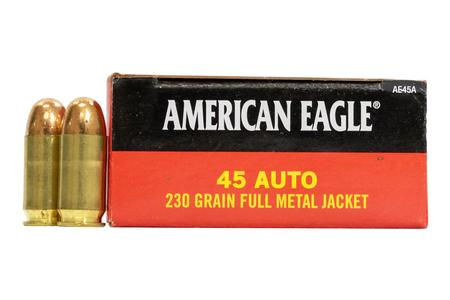 FEDERAL AMMUNITION 45 Auto 230 gr FMJ American Eagle 50/Box