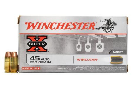 Winchester 45 Auto 230 gr Winclean BEB Super-X 50/Box