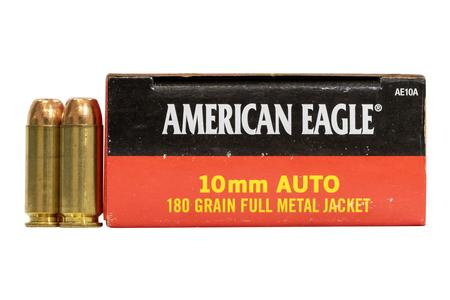 Federal 10mm Auto 180 gr FMJ American Eagle 50/Box
