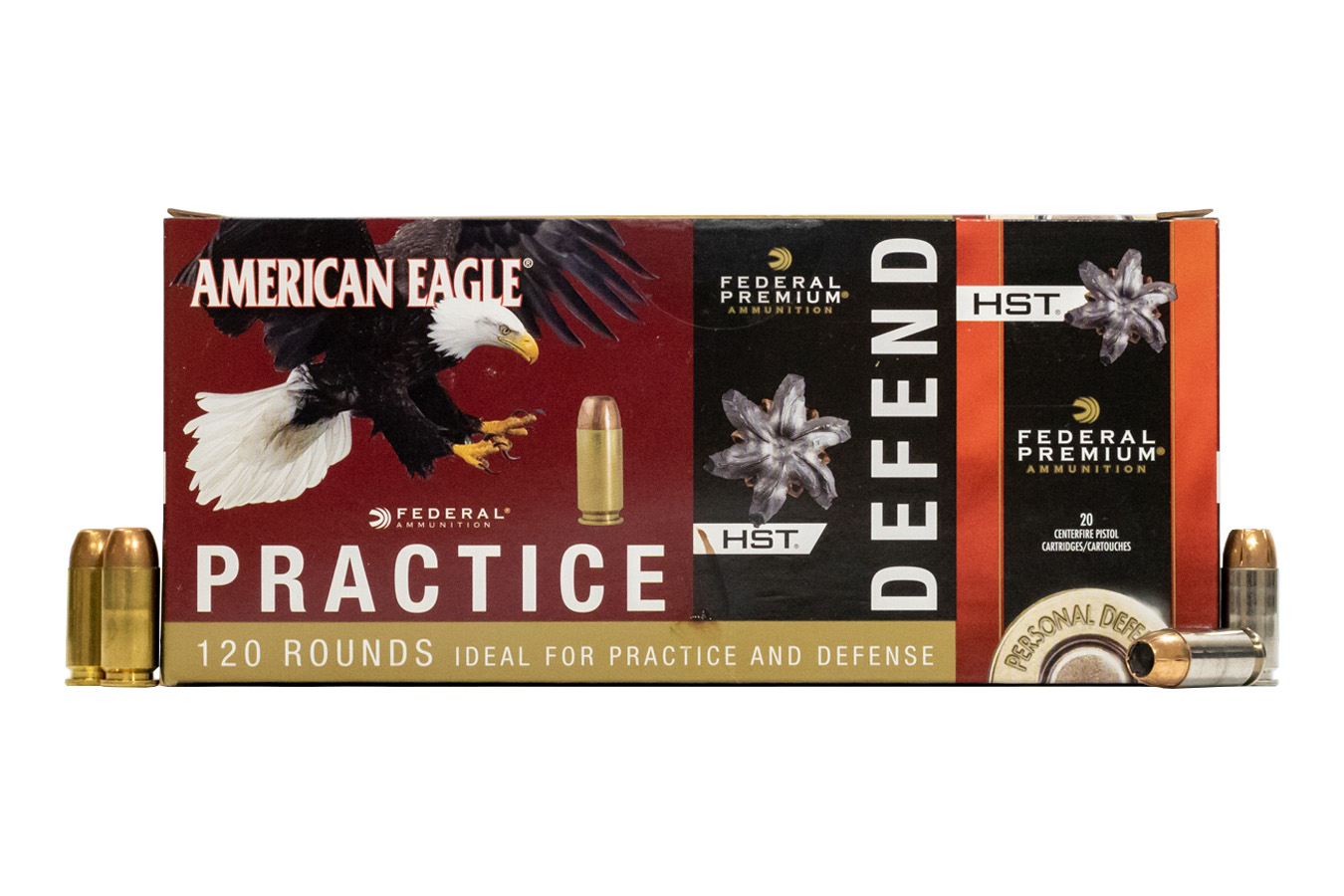 40SW PRACTICE/DEFEND 120 RD VALUE PACK