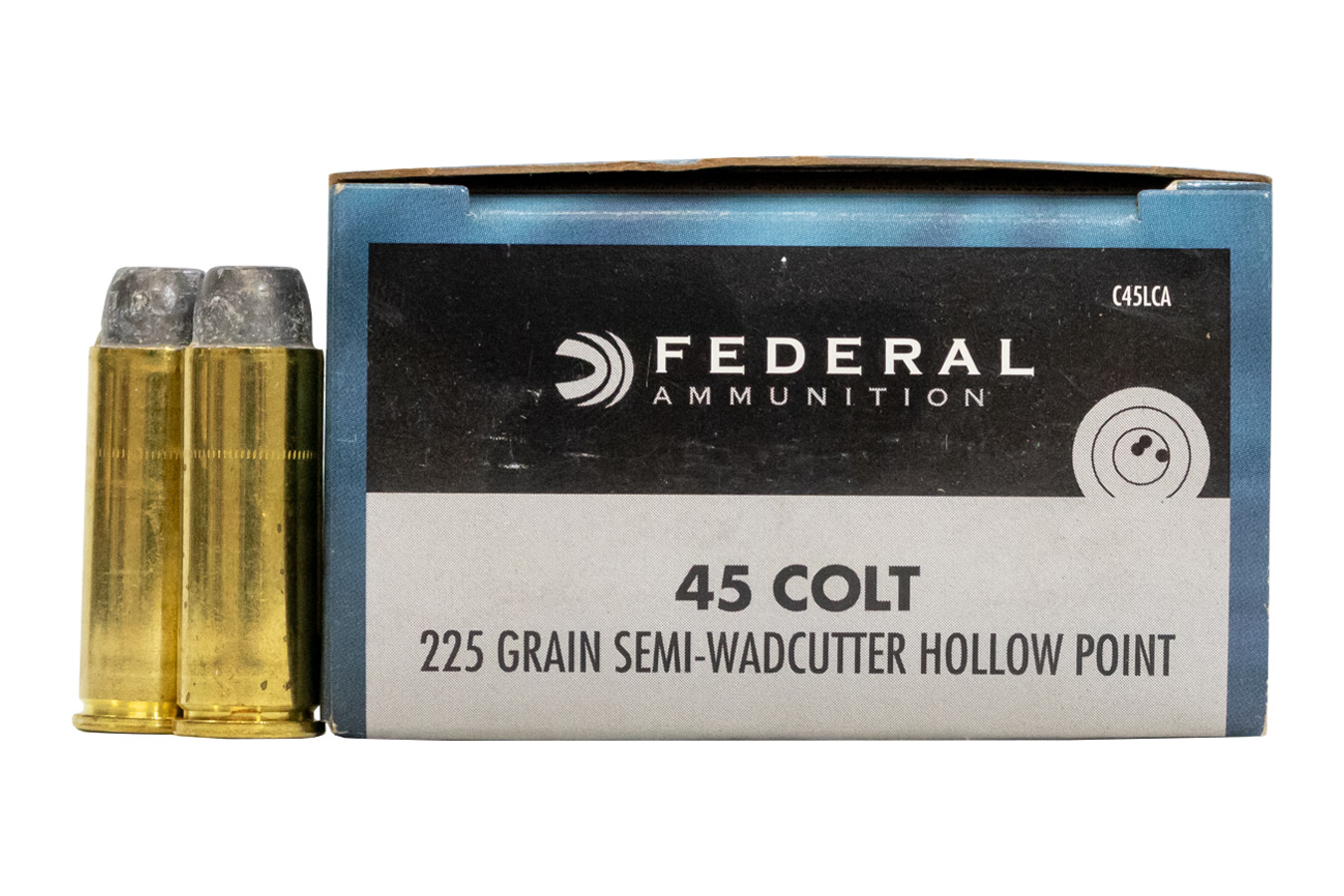 45 COLT 225 GR SEMI WADCUTTER HP CHAMPION