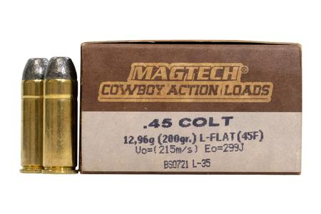 MAGTECH 45 Colt 200 gr Lead Flat Nose Cowboy Action 50/Box