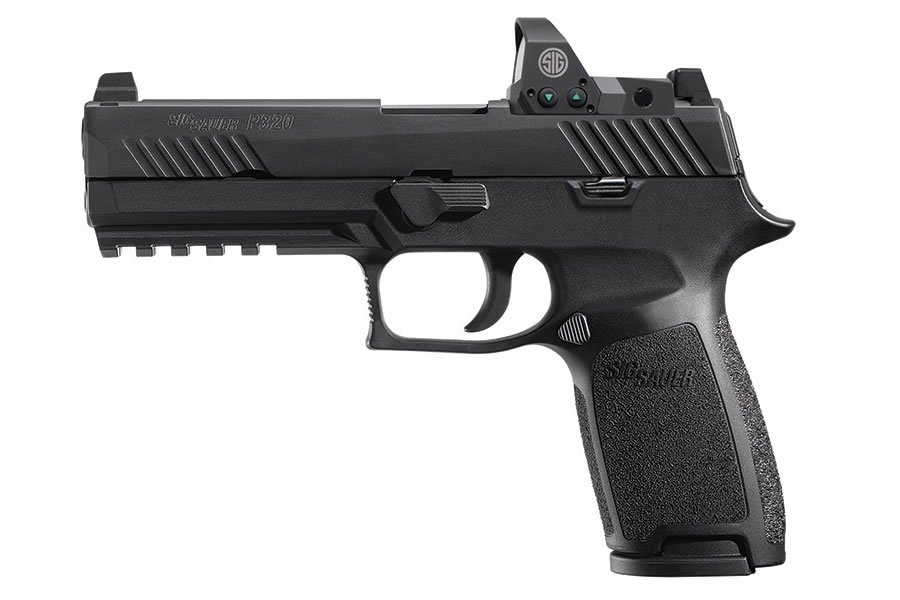 P320 RX Full Size 9mm Striker-Fired Pistol with ROMEO1 Reflex Sight (LE)