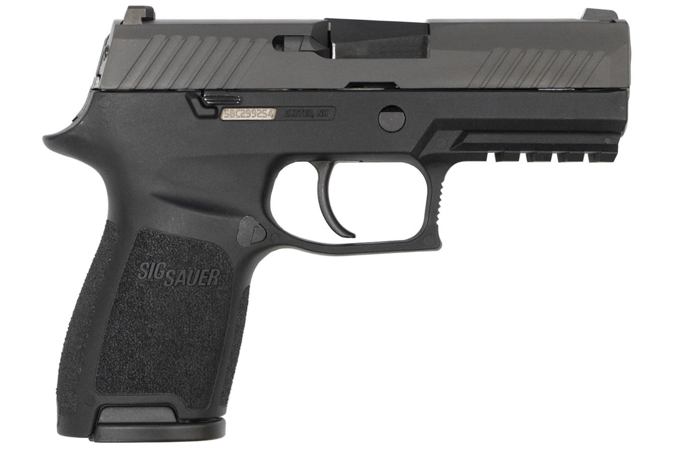 P320 COMPACT 45 ACP WITH NIGHT SIGHTS (LE)