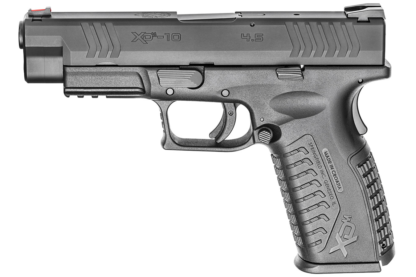XDM 10mm 4 5 Full-Size Black Pistol