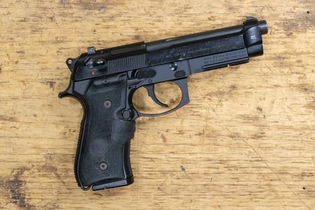 Beretta 92G 9mm Semi-Auto Police Trade-In Pistol with Crimson Trace Grip  (Fair Condition)