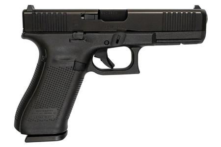 GLOCK 17 GEN5 9MM MOS FULL-SIZE PISTOL WITH FRONT SERRATIONS
