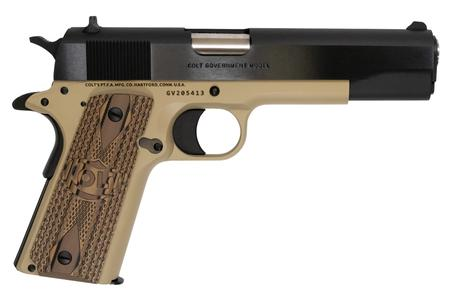 Colt TALO 1991 Govt .45 ACP 5in 7rd Black/McMillan Tan 1 of 400 O1991-MT