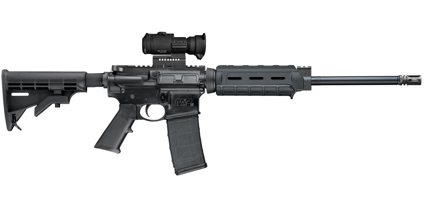 No. 17 Best Selling: SMITH AND WESSON MP15 SPORT II 5.56MM OR M-LOK WITH AIMPOINT