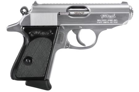 WALTHER PPK 380 ACP STAINLESS 6 RND MAG