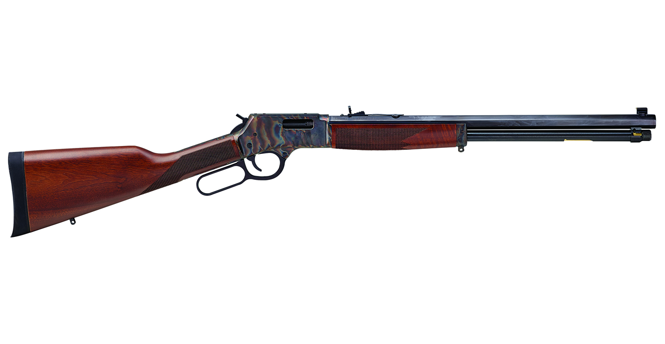 BIG BOY 38/357 COLOR CASE HARDENED LEVER-ACTION RIFLE