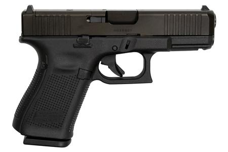 GLOCK 19 GEN5 9MM MOS COMPACT PISTOL WITH FRONT SERRATIONS