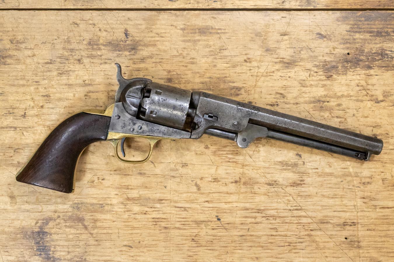 Colt revolver serienummer dating