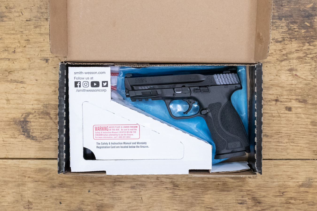 MP9 M2.0 FULL-SIZE 9MM POLICE TRADE-IN PISTOLS W/ 3 MAGS (NEW IN BOX)