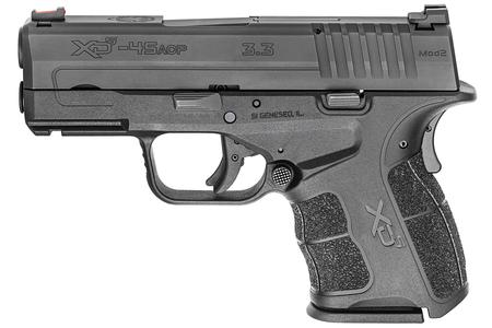 SPRINGFIELD XDS MOD.2 3.3 SINGLE STACK 45 ACP GEAR UP PACKAGE