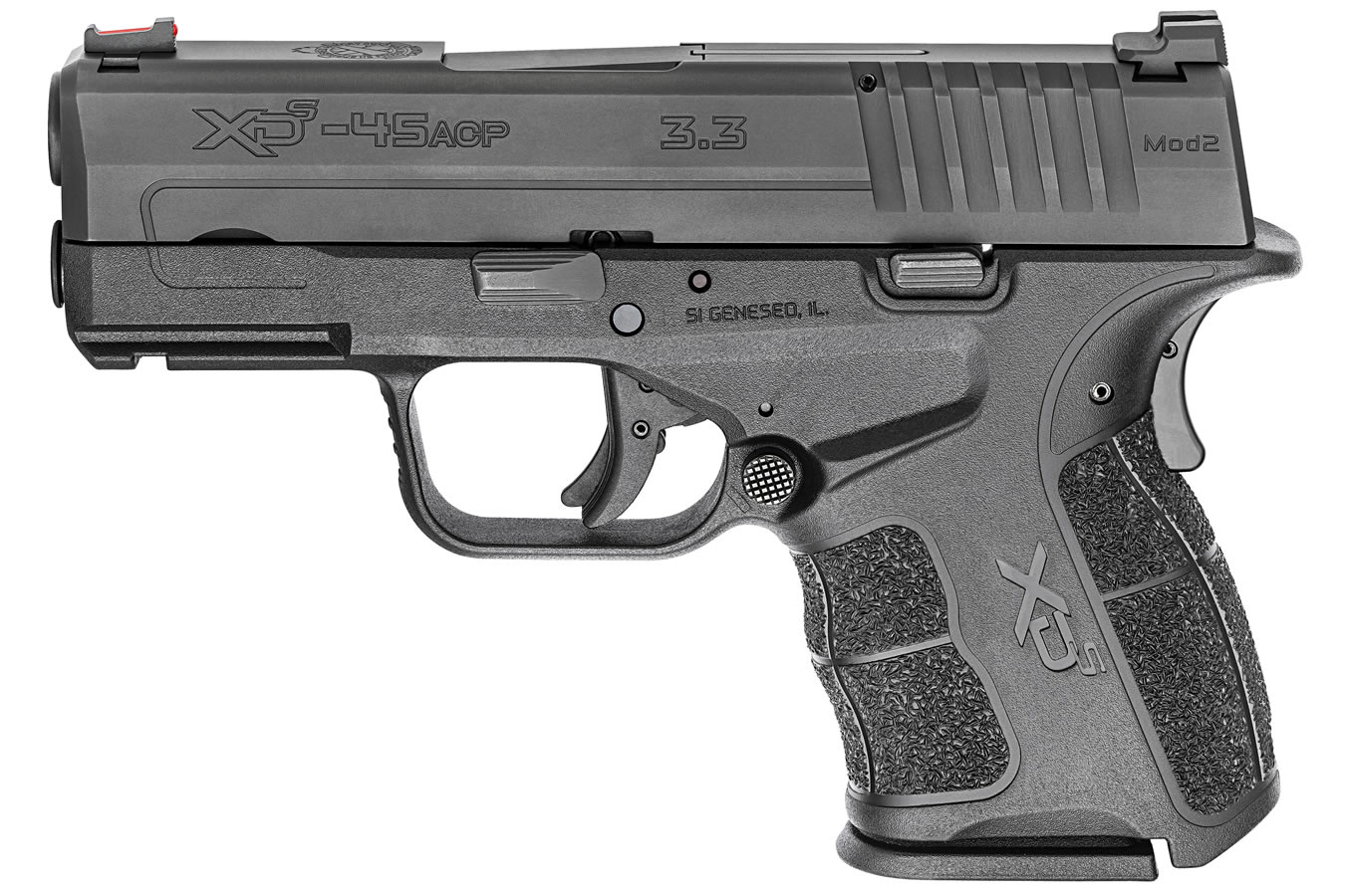 XDS Mod 2 3 3 Single Stack 45 ACP Gear Up Package with 5 Magazines and  Range Bag
