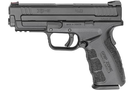 SPRINGFIELD XD MOD.2 9MM 4.0 SERVICE MODEL BLACK GEAR UP PACKAGE