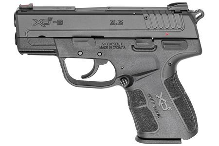 SPRINGFIELD XDE 9MM 3.3 INCH BLACK GEAR UP PACKAGE
