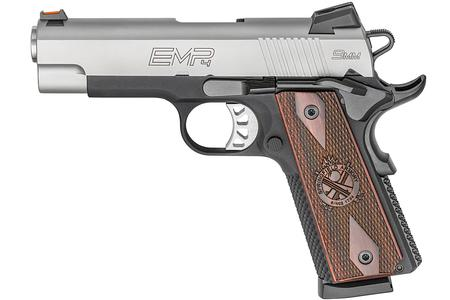 SPRINGFIELD 1911 EMP CHAMPION 9MM 4.0 LIGHTWEIGHT GEAR UP PACKAGE