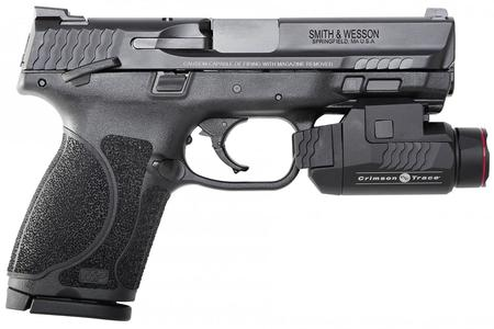 SMITH AND WESSON MP 9 COMPACT M2.0 CT LIGHT THUMB SAFETY