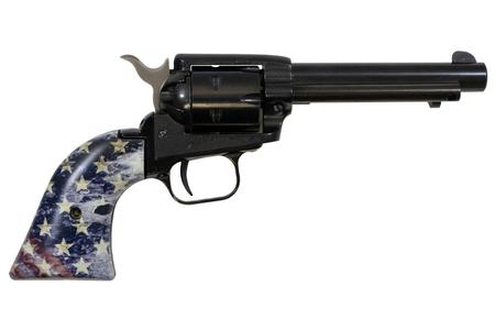 HERITAGE ROUGH RIDER 22LR WITH AMERICAN FLAG GRIPS