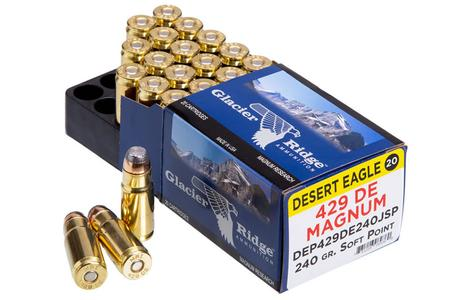 MAGNUM RESEARCH .429 DE Magnum 240 gr Jacketed Soft Point 20/Box