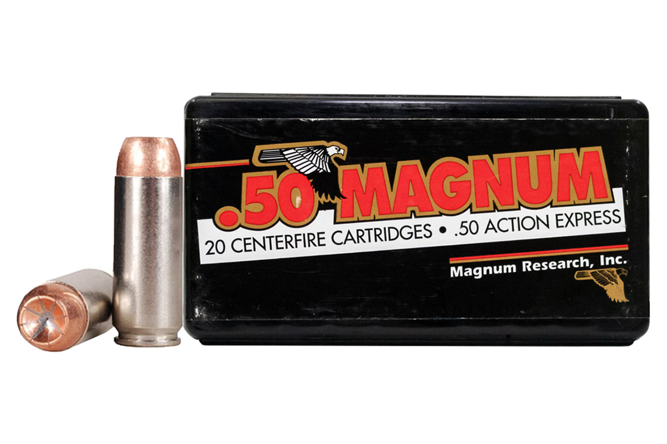 MAGNUM RESEARCH 50 MAG ACTION EXPRESS 300 GR JHP 20BX