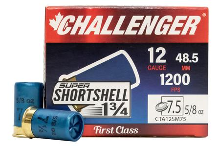 Challenger Ammo 12 Gauge Super Shortshell 1 3/4 in 5/8 oz - 20/Box