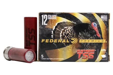 FEDERAL AMMUNITION 12 Gauge 3 inch 1-3/4 oz Heavyweight TSS #9 5/Box