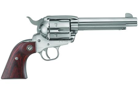 Ruger New Vaquero Convertible Revolver .45 LC .45 ACP 5.5in 6rd Stainless 5141