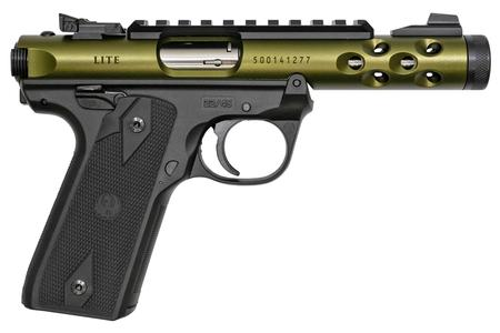 Ruger Mark IV 22/45 Lite 22 LR Green Anodized with Threaded Barrel