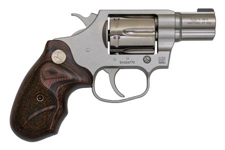 Colt Classic Cobra 38 Special Double-Action Revolver with Wood Grips