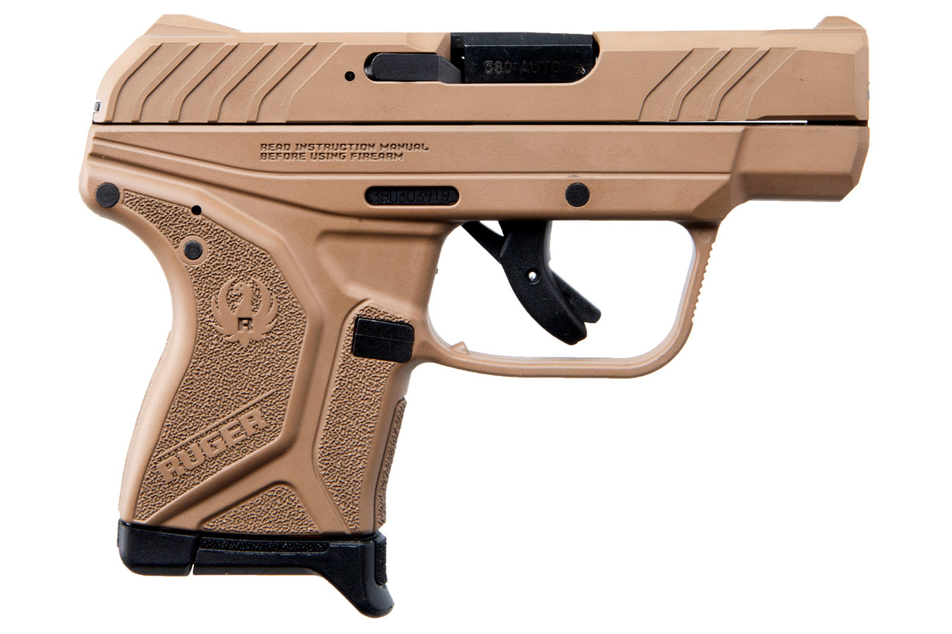 RUGER LCP II 380 AUTO FDE CERAKOTE FINISH