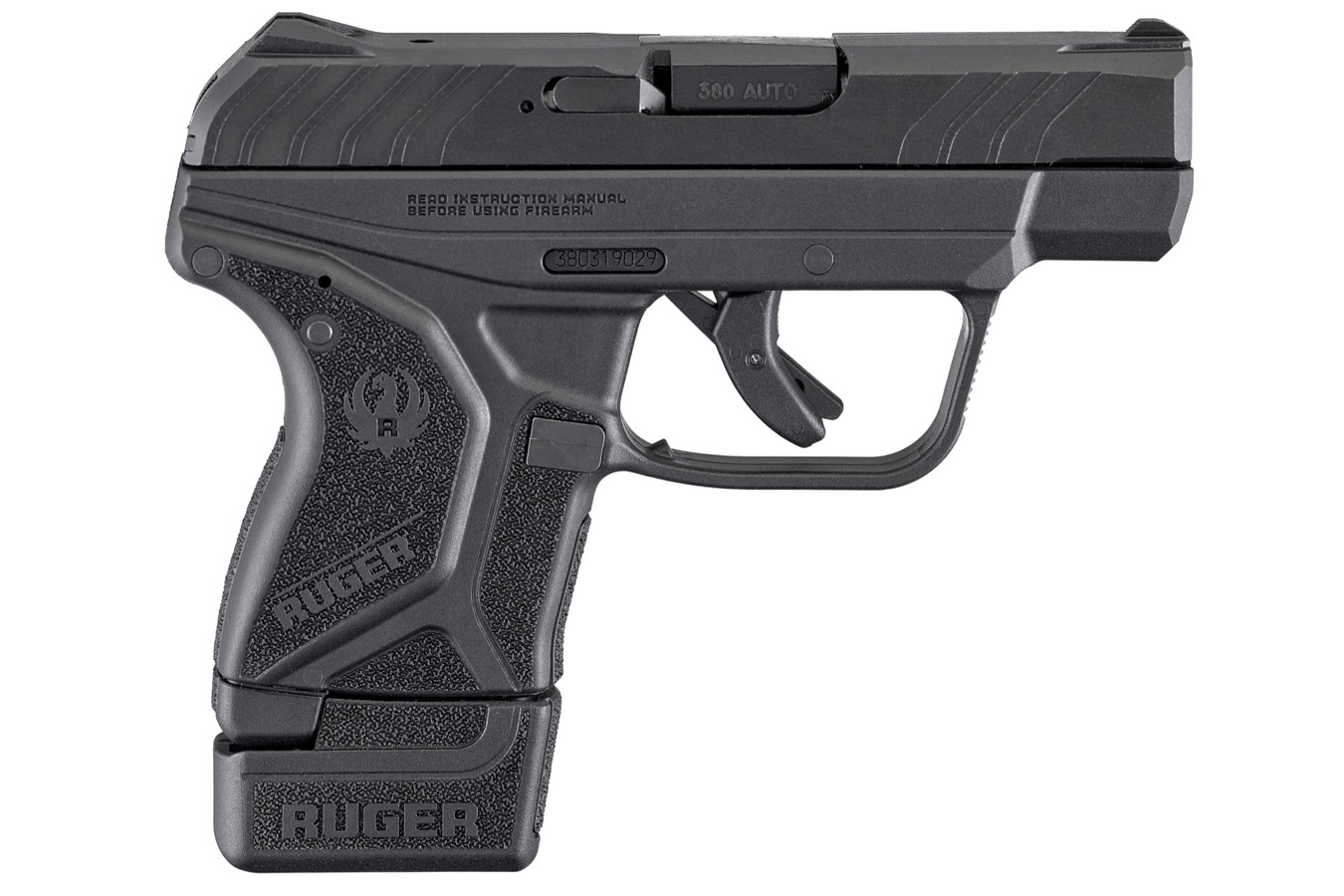LCP II 380 Auto Carry Conceal Pistol with Grip Extension
