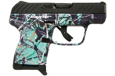 RUGER LCP II 380 Auto with Muddy Girl Serenity Camo Finish