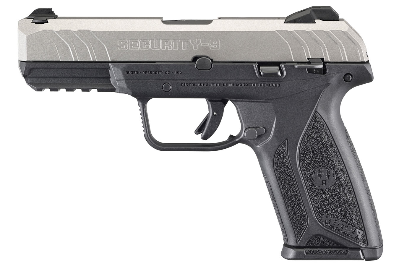 Ruger Security 9 9mm Pistol With Silver