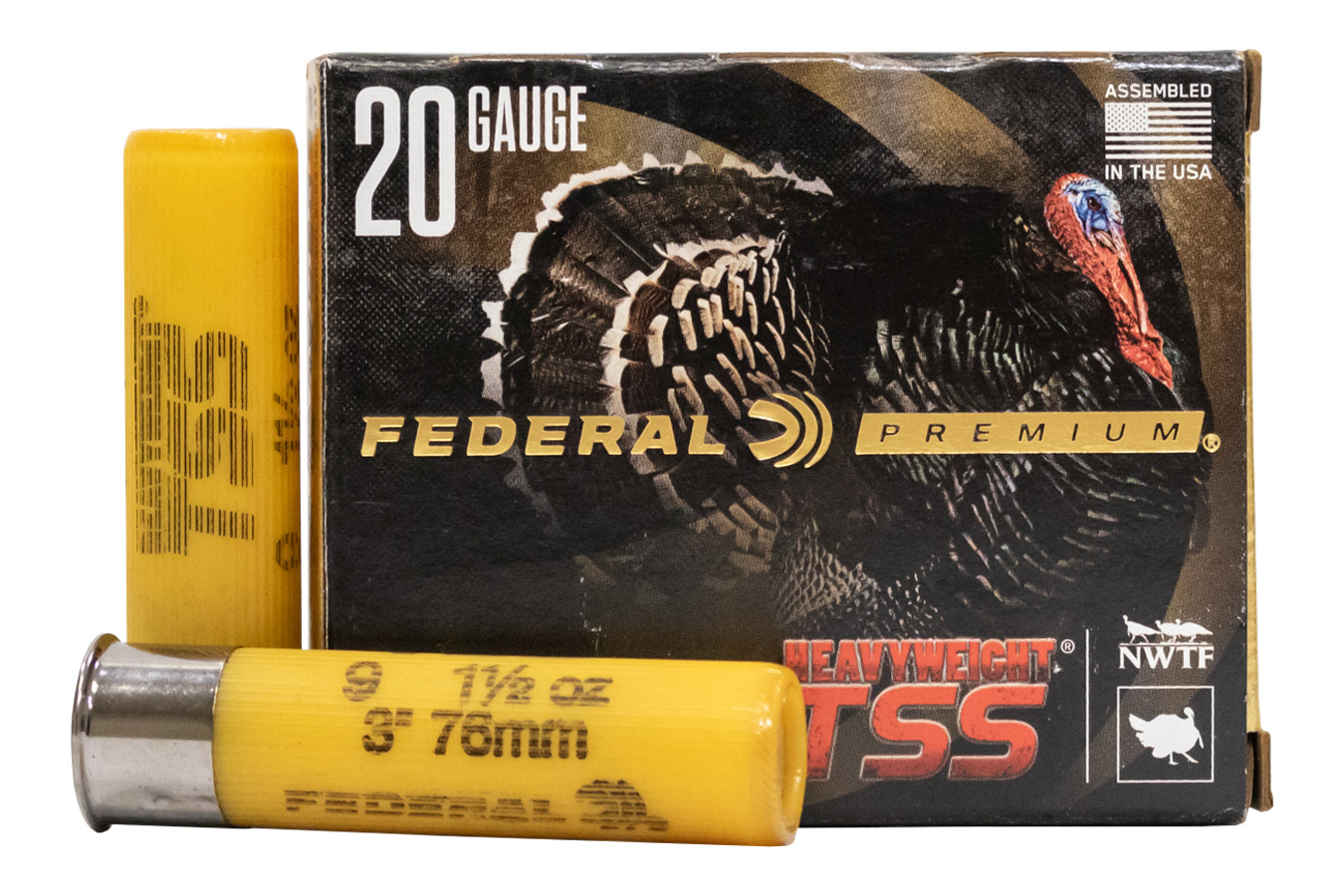 20 GA 3 IN 1-1/2 OZ 9 HEAVYWEIGHT TSS TURKEY