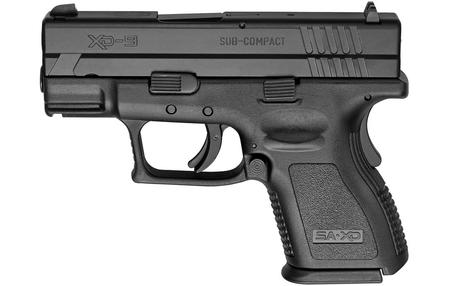 SPRINGFIELD XD 9MM SUB-COMPACT BLACK DEFENDERS SERIES