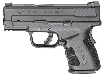 SPRINGFIELD XD MOD.2 .45 ACP SUB-COMPACT BLACK GEAR UP