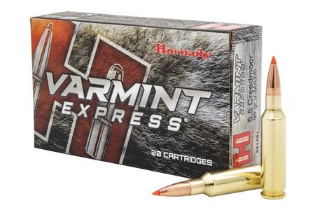 HORNADY 6.5 Creedmoor 95 gr V-Max Varmint Express 20/Box