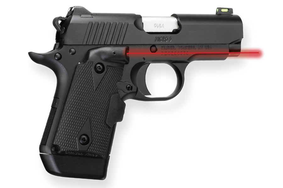 Micro 9 Shot Show Special 9mm with Crimson Trace Lasergrips, Holster and  Two Magazines