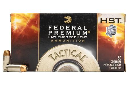 Federal 40SW 165 gr HST HP Tactical Police-Trade Ammo 50/Box