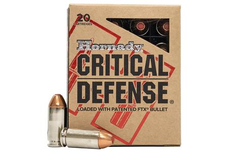 40 SW 165 GR FTX CRITICAL DEFENSE 20BX