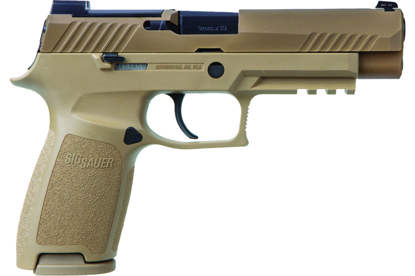 SIG P320 M17 9mm Full-Size FDE No Manual Safety with ROMEO5 Red Dot