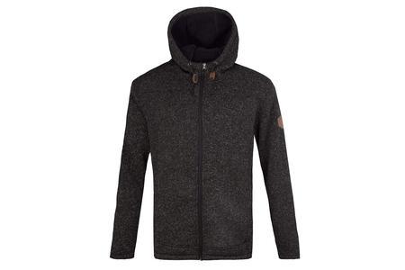 12049964820 Free Country Osprey Sweater Knit Fleece Jacket in Black