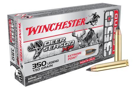 Winchester 350 Legend 150 gr Extreme Point Deer Season XP 20/Box