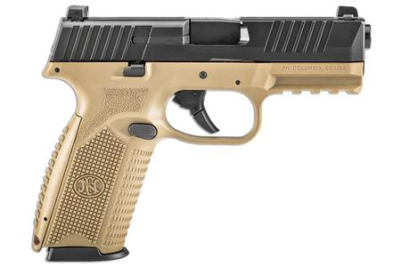 FNH FN 509 9MM FDE/BLACK STRIKER-FIRED PISTOL