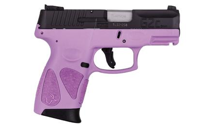 TAURUS G2C 9MM SUB-COMPACT LIGHT PURPLE/BLACK