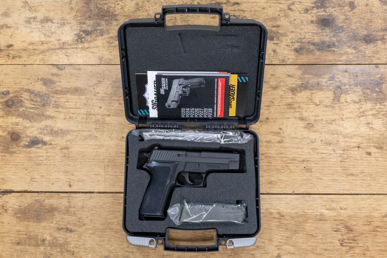 P226 40SW POLICE TRADE-INS NEW IN BOX
