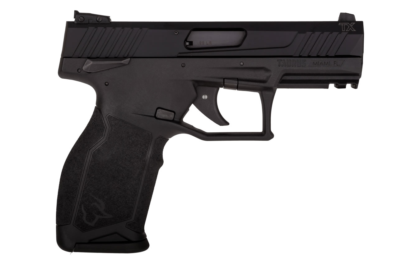 No. 11 Best Selling: TAURUS TX22 22LR BLACK RIMFIRE PISTOL
